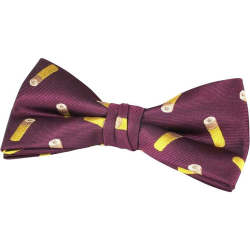 Cartridge Bow Tie In Gift Box - J and p hats Cartridge Bow Tie In Gift Box