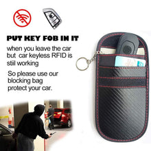 Load image into Gallery viewer, Faraday Car Key Signal Blocker Case Fob Pouch Keyless RFID Blocking Bag - J and p hats Faraday Car Key Signal Blocker Case Fob Pouch Keyless RFID Blocking Bag