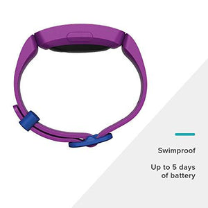 Fitbit Unisex Youth Ace 2 Activity Tracker for Kids, Purple, One Size - J and p hats Fitbit Unisex Youth Ace 2 Activity Tracker for Kids, Purple, One Size