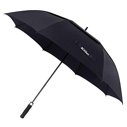 Golf Umbrella Windproof Large 62 Inch, Automatic Open, - J and p hats Golf Umbrella Windproof Large 62 Inch, Automatic Open,