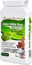 Load image into Gallery viewer, Green Coffee Bean Extreme Weight Loss Formula 60 Capsules - J and p hats Green Coffee Bean Extreme Weight Loss Formula 60 Capsules