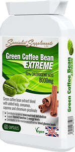Green Coffee Bean Extreme Weight Loss Formula 60 Capsules - J and p hats Green Coffee Bean Extreme Weight Loss Formula 60 Capsules