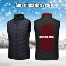 Load image into Gallery viewer, Heating  Body Warmer   Usb Charging  Heated  body Warmer Beat The Freeze - J and p hats