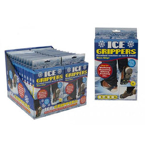 Ice Grippers - One Size Fits All - J and p hats Ice Grippers - One Size Fits All