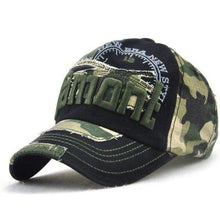 Load image into Gallery viewer, JAMONT Cammo Style Baseball Cap One Size Fits All - J and p hats JAMONT Cammo Style Baseball Cap One Size Fits All