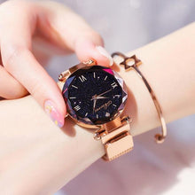 Load image into Gallery viewer, Ladies watch Elegant Magnet Fashion Quartz Wristwatch - J and p hats Ladies watch Elegant Magnet Fashion Quartz Wristwatch