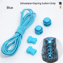 Load image into Gallery viewer, Locking elasticated Shoe Laces Ideal for Running/Jogging/Triathlon - J and p hats Locking elasticated Shoe Laces Ideal for Running/Jogging/Triathlon