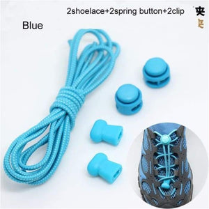 Locking elasticated Shoe Laces Ideal for Running/Jogging/Triathlon - J and p hats Locking elasticated Shoe Laces Ideal for Running/Jogging/Triathlon