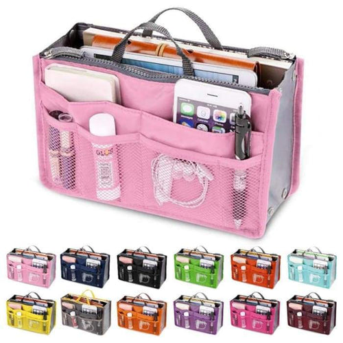Make up Organiser or travel Organiser Choice Of lovely colours - J and p hats Make up Organiser or travel Organiser Choice Of lovely colours
