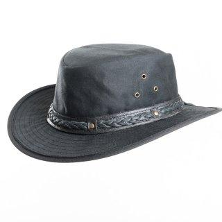 Men's Wax Hat -wide brim Aussie Style Bush Hat - J and p hats Men's Wax Hat -wide brim Aussie Style Bush Hat