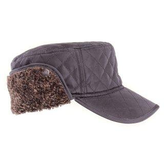 Men's winter Hats Quilted With Ear Flaps - J and p hats Men's winter Hats Quilted With Ear Flaps
