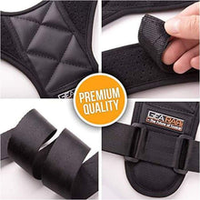 Load image into Gallery viewer, Posture Corrector for Men and Women - Upper Back Brace Straightener - J and p hats Posture Corrector for Men and Women - Upper Back Brace Straightener
