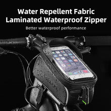 Load image into Gallery viewer, ROCKBROS Bicycle Bag Waterproof Touch Screen 6.5 Phone Case Bike Accessories - J and p hats ROCKBROS Bicycle Bag Waterproof Touch Screen 6.5 Phone Case Bike Accessories