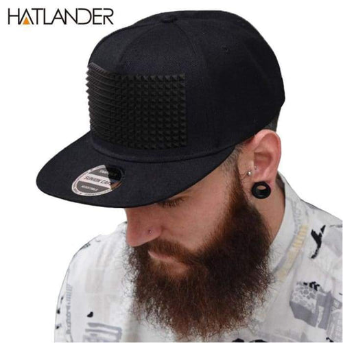 SnapBack Cap 3D Raised Soft Silicone Square pattern - J and p hats SnapBack Cap 3D Raised Soft Silicone Square pattern