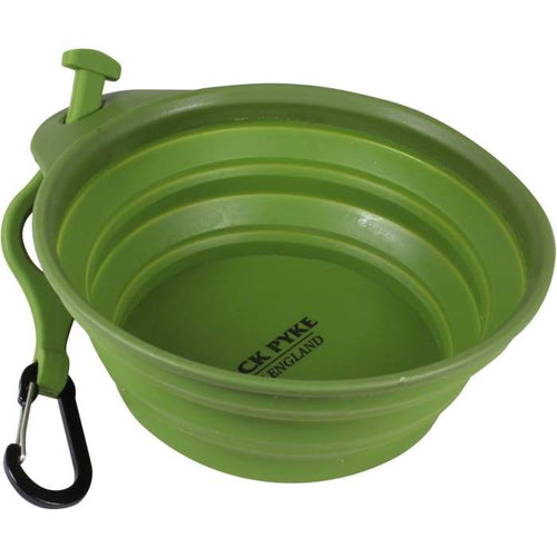 Space Saving Collapsing Dog Bowl By Jack Pyke - J and p hats Space Saving Collapsing Dog Bowl By Jack Pyke