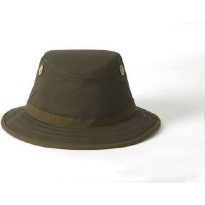 Tilley Hat Waterproof -TWC7 Outback  waxed Waterproof cotton hat - J and p hats
