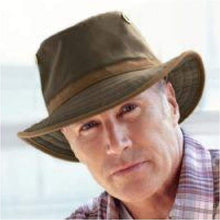 Load image into Gallery viewer, Tilley Hat Waterproof -TWC7 Outback  waxed Waterproof cotton hat - J and p hats