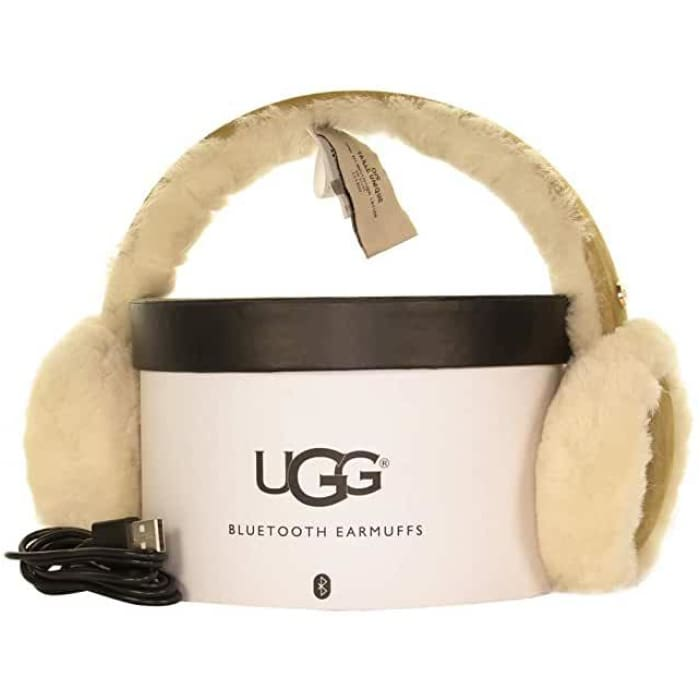 UGG Sheepskin Bluetooth Earmuffs for woman - J and p hats
