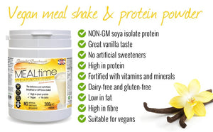 Vanilla Flavoured meal Replacement Shake Vegan Friendly - J and p hats Vanilla Flavoured meal Replacement Shake Vegan Friendly