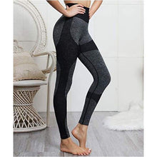 Load image into Gallery viewer, Women's Seamless High Waisted Yoga /workout / Running Leggings - J and p hats Women's Seamless High Waisted Yoga /workout / Running Leggings