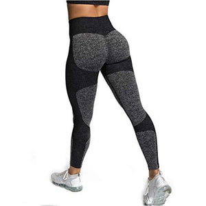 Women's Seamless High Waisted Yoga /workout / Running Leggings - J and p hats Women's Seamless High Waisted Yoga /workout / Running Leggings