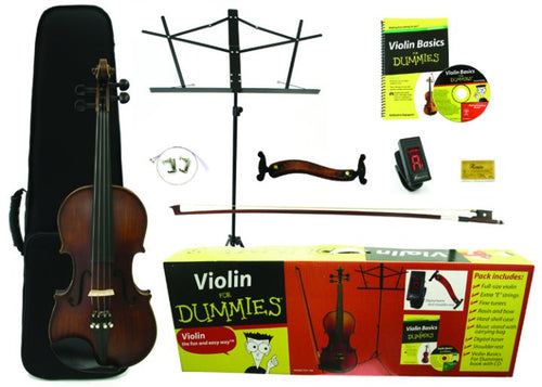 Kona Violin For Dummies Pack FDV-100