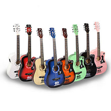 Load image into Gallery viewer, Professional Guitar 38 Inch Guitar Wood Colorful / for Beginner Musical Instrument Accessories