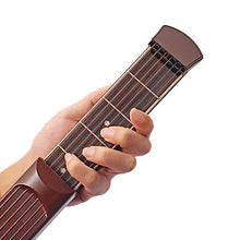 Load image into Gallery viewer, Pocket Guitar Music Instrument Ammoon X04 6 Fret Rosewood Portable