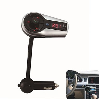 Bluetooth Handsfree FM Transmitter USB/SD Card MP3 Format Music playing With Multi-function remote control