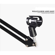 Load image into Gallery viewer, Professional Frame Bracket Mount / Hanging Arm Desktop Holder Microphone Material 360° Rotation Musical Instrument Accessories