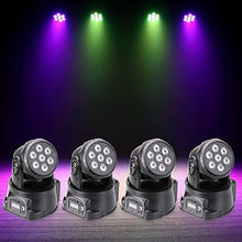 Load image into Gallery viewer, U'King 4pcs LED Stage Light / Spot Light DMX 512 / Master-Slave / Sound-Activated 70 W for Outdoor / Party / Stage Professional