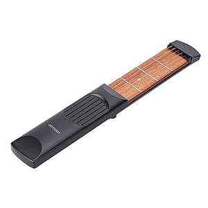 Professional Pocket Guitar Trainer Ammoon Guitar Acoustic Guitar Material ABS Portable Practice tool 6 String 4 Fret for Beginner Fun