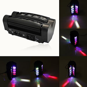 U'King LED Stage Light / Spot Light DMX 512 Master-Slave Sound-Activated Music-Activated 60 for For Home Club Wedding Stage Party Outdoor