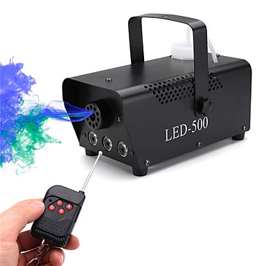 U'King Stage Fog Machine DMX 512 Sound-Activated Auto Remote Control for Club Wedding Stage Party Outdoor Professional with Remote