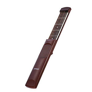 Pocket Guitar Music Instrument Ammoon X04 6 Fret Rosewood Portable