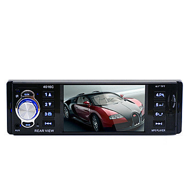 12V Rear view camera 4.1 HD Digital Car MP5 Players Stereo FM Radio MP3 MP4 Audio Video USB SD Car Electronics In-Dash