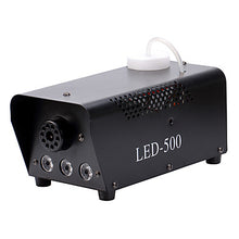 Load image into Gallery viewer, U'King Stage Fog Machine DMX 512 Sound-Activated Auto Remote Control for Club Wedding Stage Party Outdoor Professional with Remote