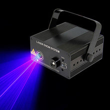 Load image into Gallery viewer, U'King Laser Stage Light DMX 512 Master-Slave Sound-Activated 9 for Club Wedding Stage Party Outdoor Professional High Quality