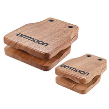 Load image into Gallery viewer, Ammoon Large & Medium 2pcs Cajon Box Drum Companion Accessory Castanets for Hand Percussion