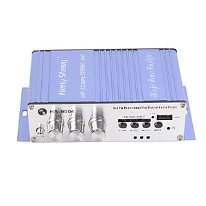 Portable Hi-Fi Stereo Output Card Power Amplifier USB / SD Card Player