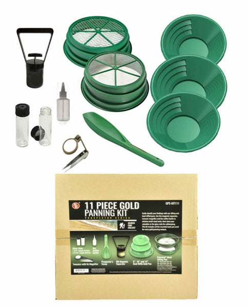 11 Piece Gold Panning Kit - Alberta Gold Equipment