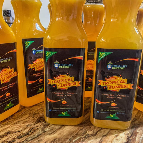 Tropical Sunrise 12 ounce bottle