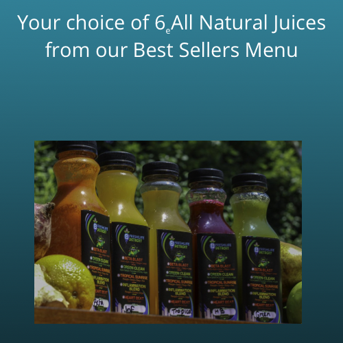 6 pack of Raw Delicious Juices (12 ounces)