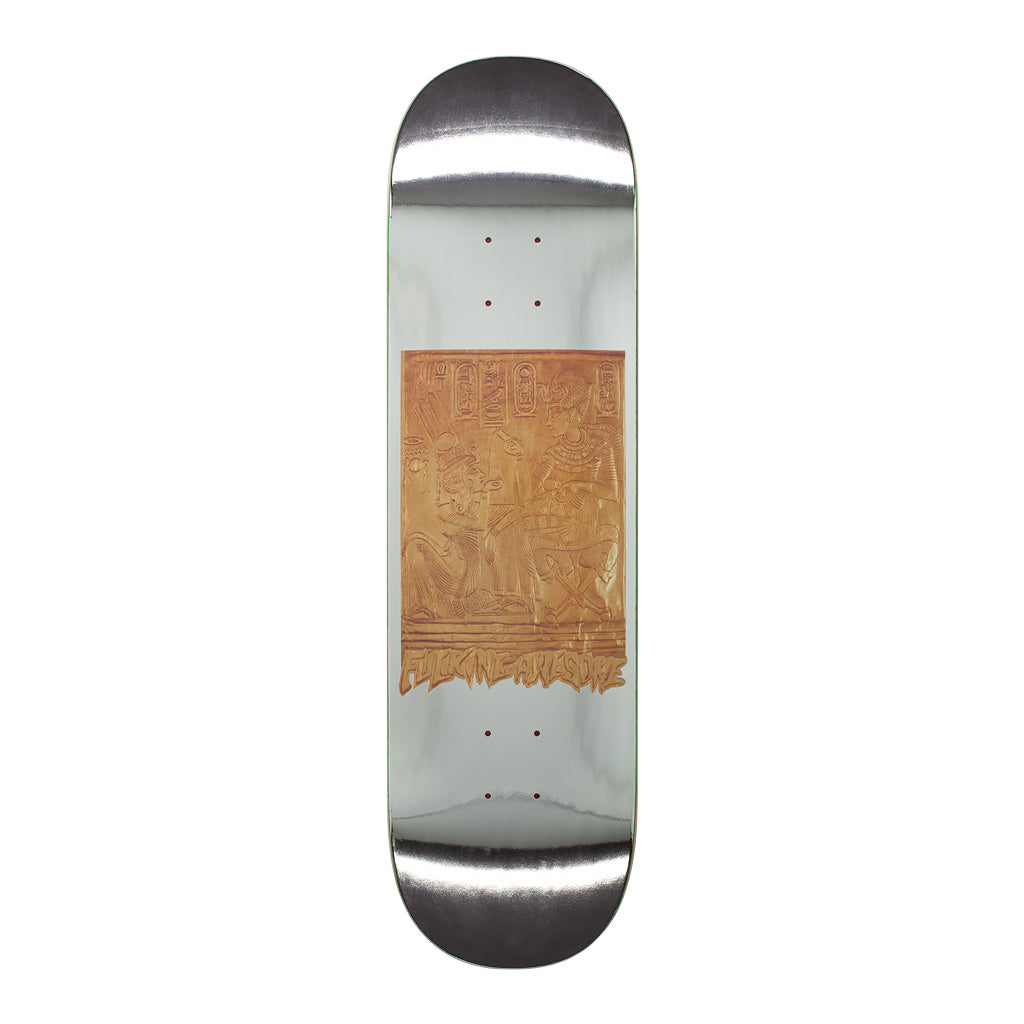 Fucking Awesome Gold Hierroglyphic Deck - 8.5""