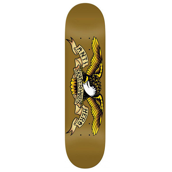 Anti Hero Classic Eagle Deck Brown - 8.06""