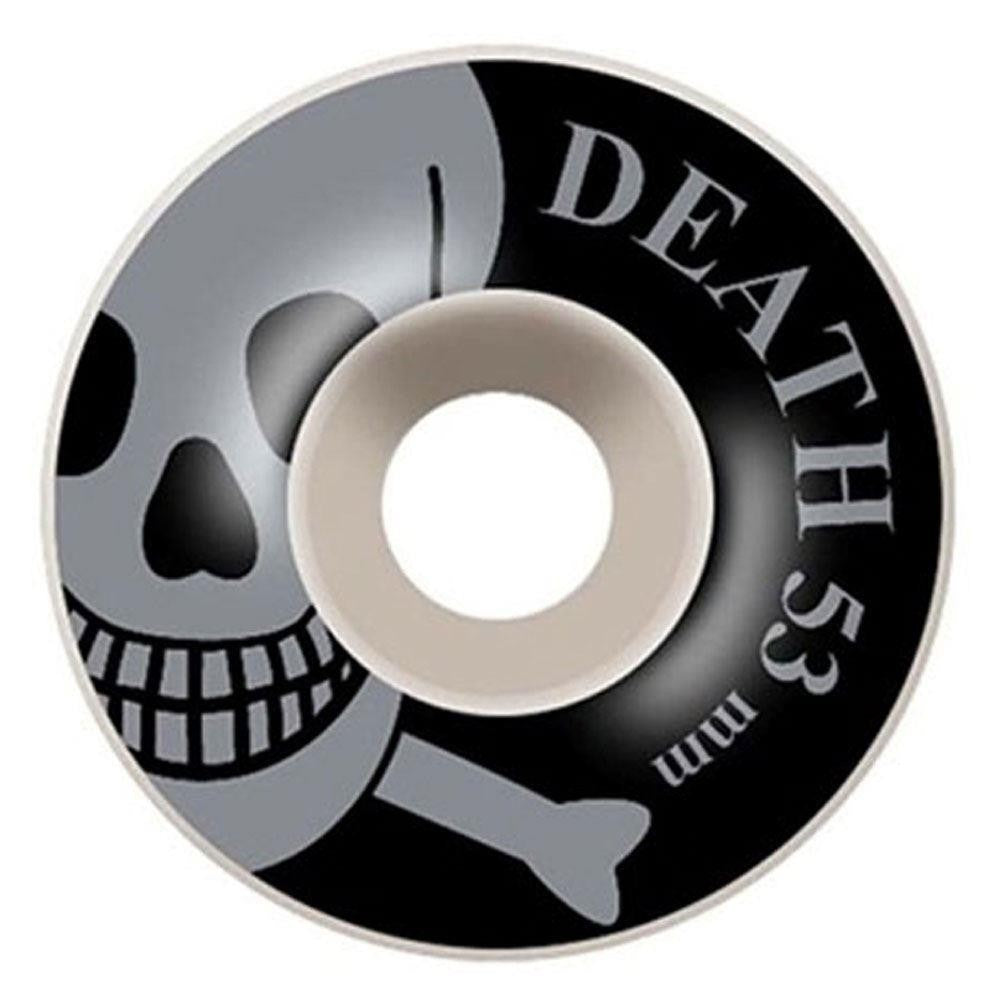Death OG Skull Wheels Silver - 53mm