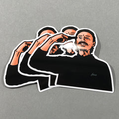 Focus Scottish Icons Stickers - Begbie 3 Pack