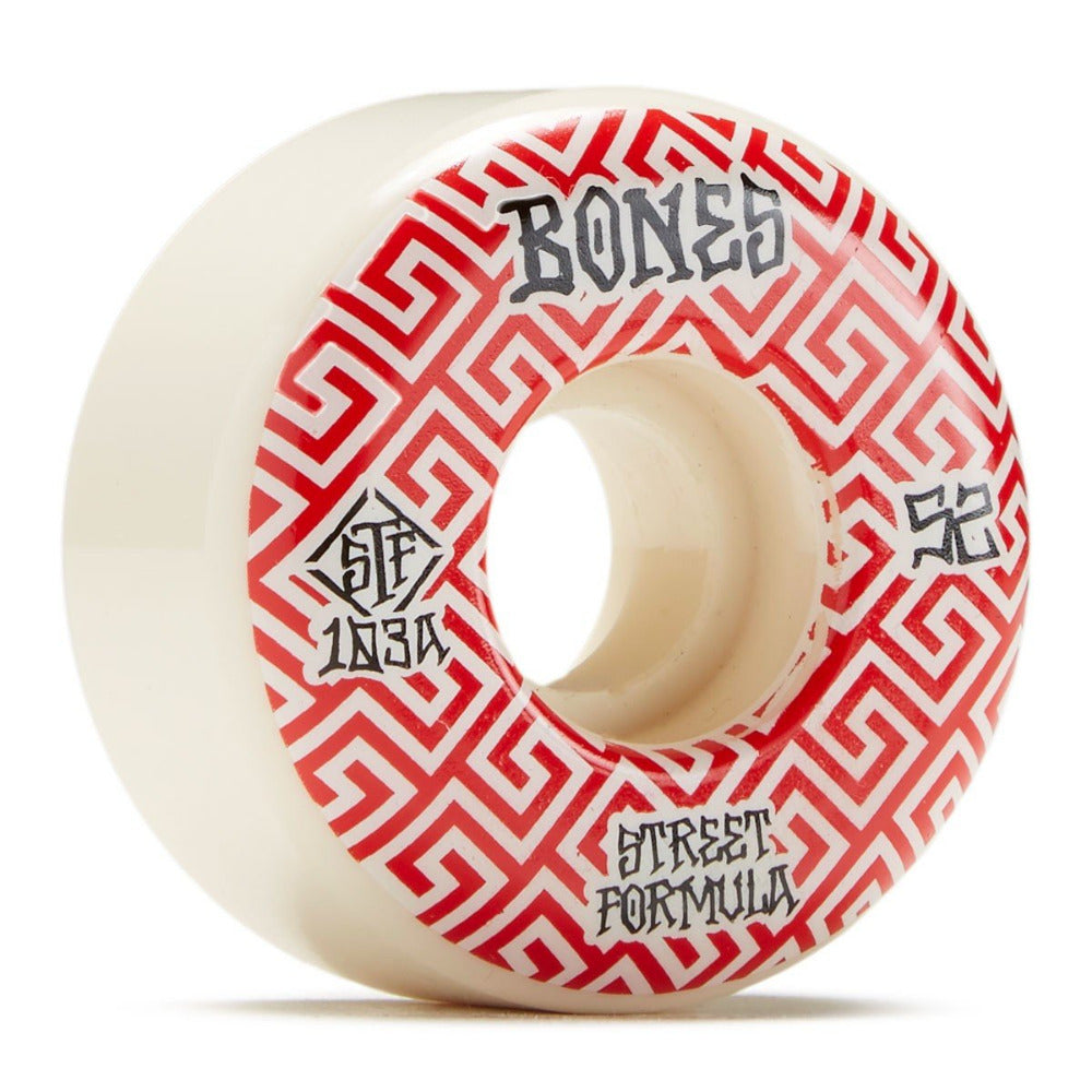 Bones Patterns Locks STF V2 103a Wheels - 52mm