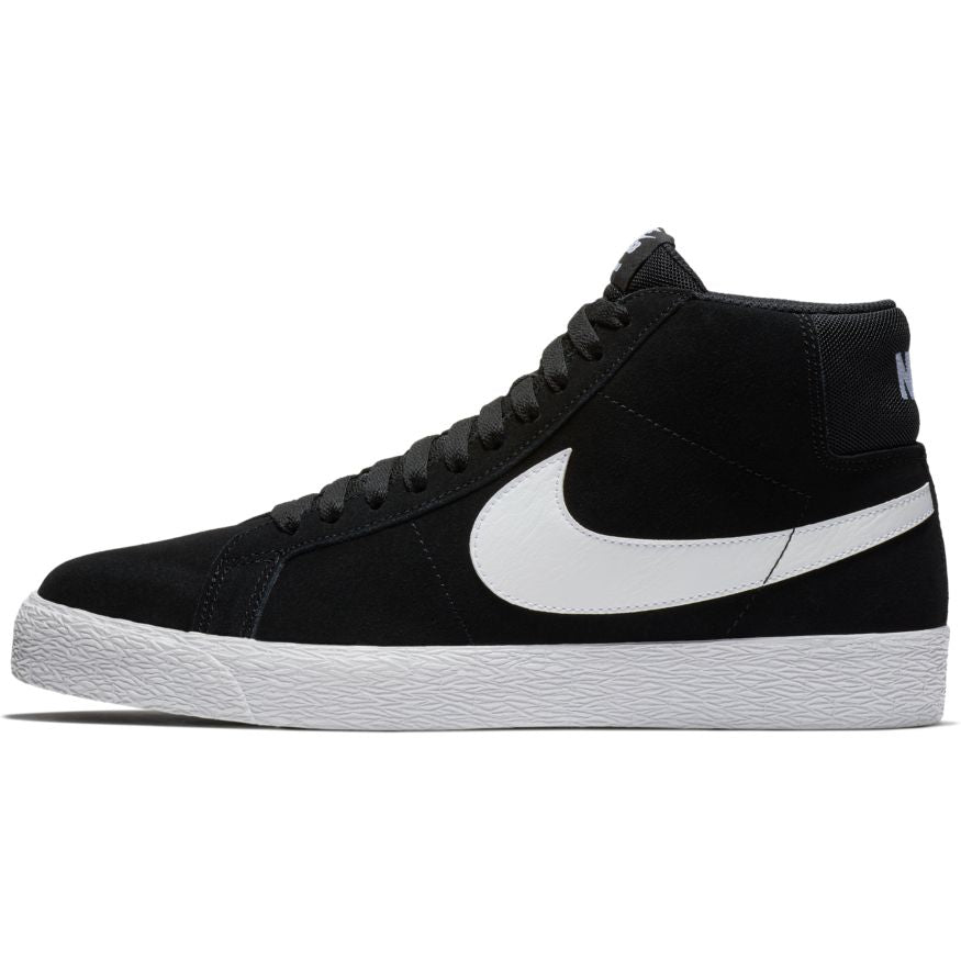 Nike SB Zoom Blazer Mid Shoes - Black/White