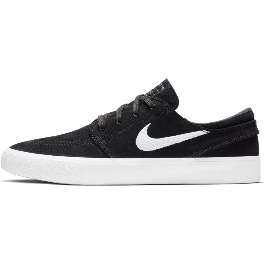 Nike SB Janoski Low Remastered Shoes - Black/White/Thunder Grey/Gum/Light Brown